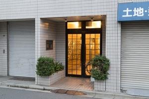 マートルコート桜台のエントランス