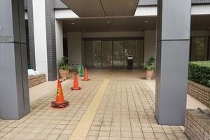東京ツインパークスのエントランス
