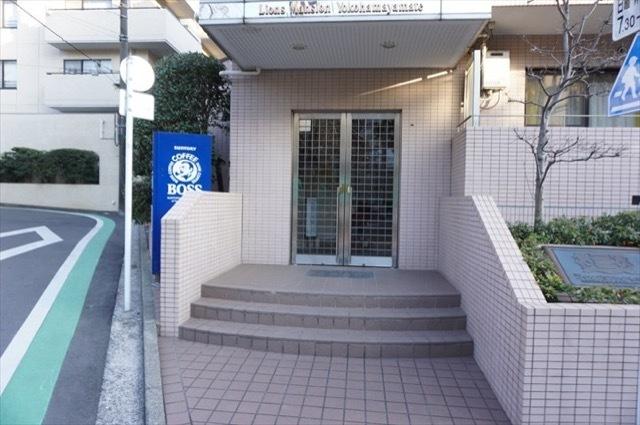 ライオンズマンション横浜山手のエントランス