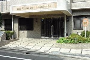 ライオンズマンション葛飾渋江公園のエントランス