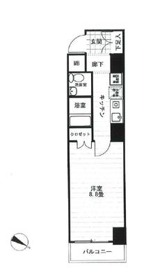 ラシード東神奈川駅前の間取り