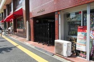 メゾン高田馬場のエントランス