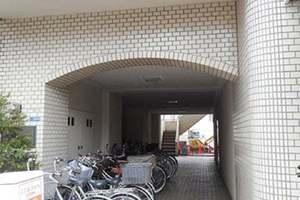 グリーンキャピタル錦糸町のエントランス