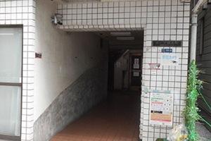 ホープ錦糸町のエントランス