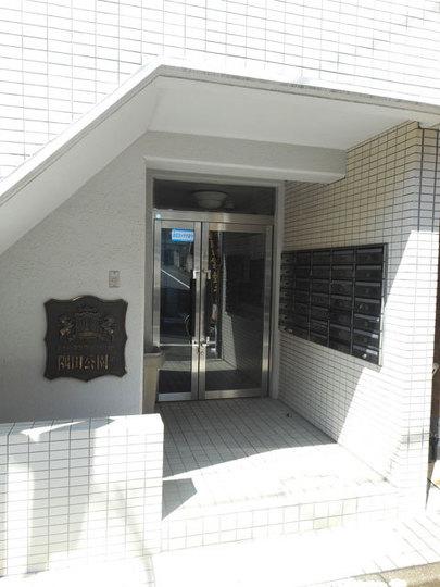 ホーユウコンフォルト隅田公園第2のエントランス