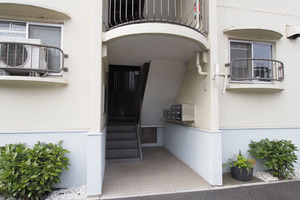 東武高島平サンライトマンションのエントランス