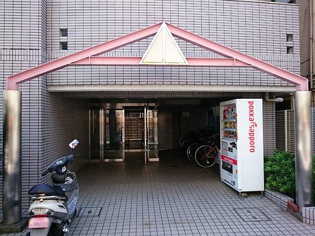 ステージ西蒲田のエントランス