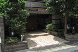 クリオ高田馬場壱番館のエントランス