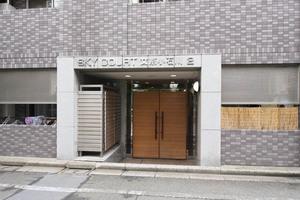 スカイコート文京小石川第2のエントランス
