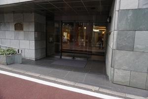 コートアネックス麻布永坂のエントランス