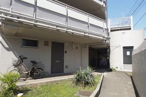 第2上板橋サンライトマンション(C〜G棟)のエントランス