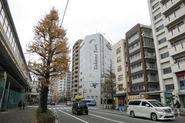富士見マンション(渋谷区)の外観