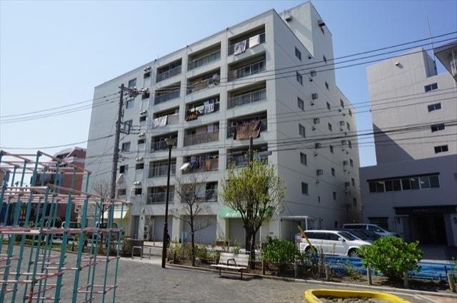 日清横浜第1コーポの外観