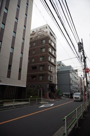 トリニティーハウス三田の外観