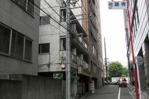 新宿番衆町ダイヤモンドマンションの外観