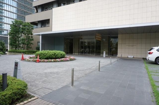 リエトコート武蔵小杉イーストタワーのエントランス