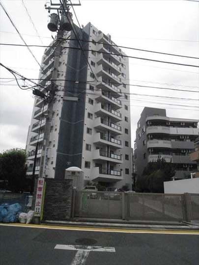 中野パークハウスの外観