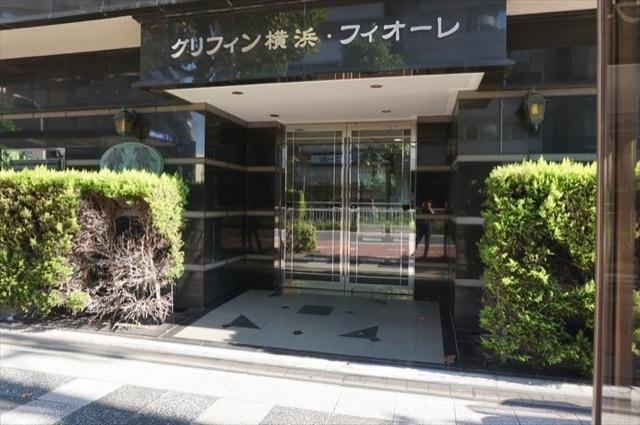 グリフィン横浜フィオーレのエントランス