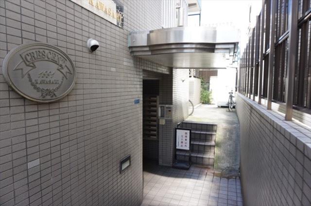 クレッセント川崎のエントランス