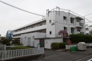 浜田山リッツハウス(A〜D棟)の外観
