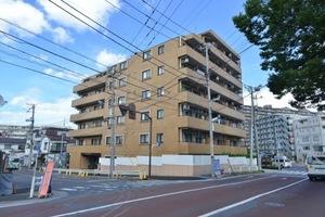 ライオンズマンション平井の外観