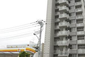 ローヤルシティ一之江弐番館の外観