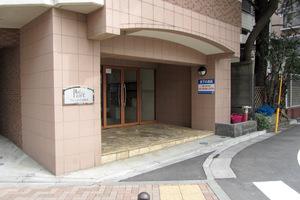 プレール渋谷松濤のエントランス