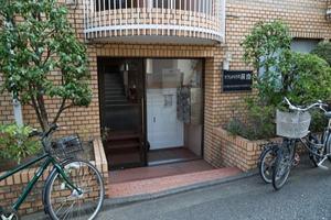 タウンハウス荻窪のエントランス