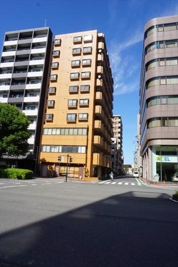 ニックハイム鶴見中央通りの外観