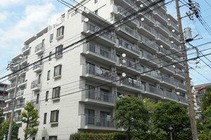 菊川パークホームズの外観