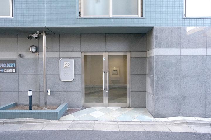 シンシア蒲田ステーションプラザのエントランス