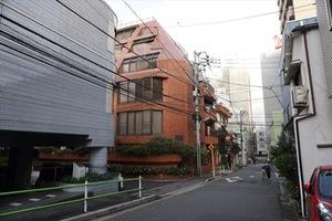 三田タウンハウスの外観