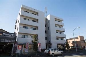 モナークマンション松庵の外観