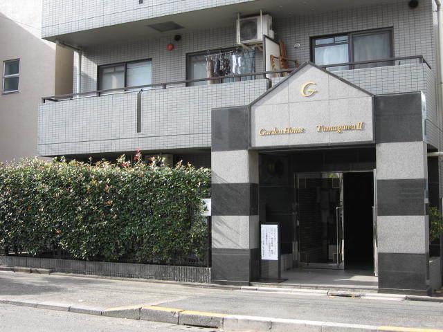 ガーデンホーム多摩川2のエントランス