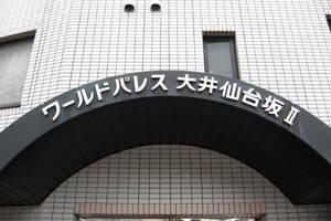 ワールドパレス大井仙台坂2の看板