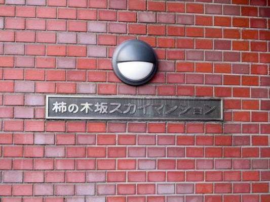 柿ノ木坂スカイマンションの看板