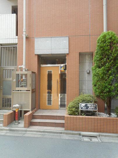 スカイコート錦糸町第2のエントランス