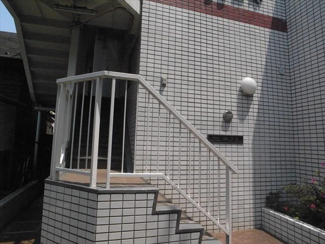ハイシティ笹塚のエントランス
