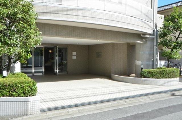 藤和シティコープ平井二丁目のエントランス