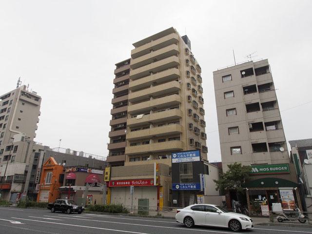 キャッスルマンション志村坂上の外観