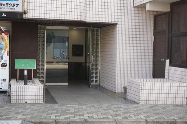 グリーンキャピタル鶴見のエントランス