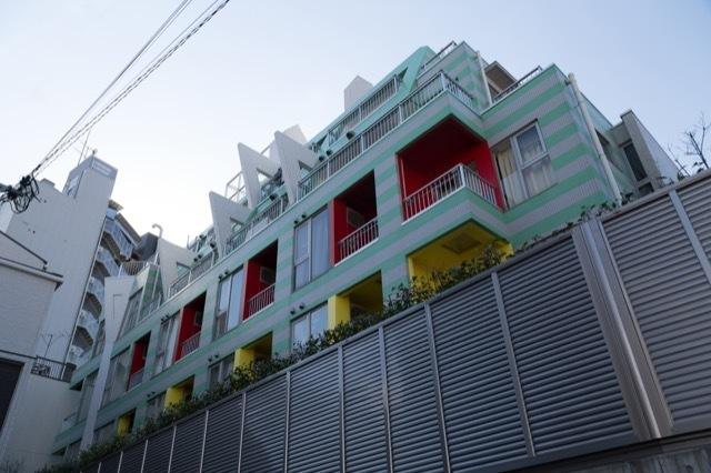 シンシア三軒茶屋レジデンスカフェの外観