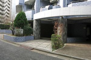 セザール渋谷のエントランス