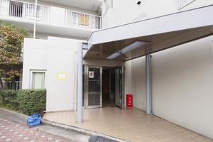 モアステージ隅田のエントランス