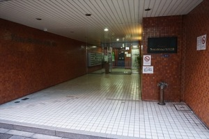 ライオンズマンションフェリス三田のエントランス