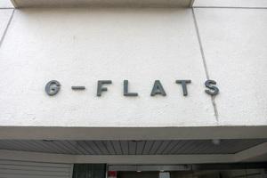 Gフラットの看板