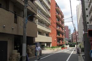 エクセルコート新宿の外観