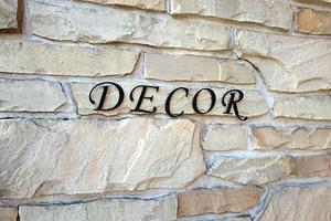 DECOR(デコール)の看板