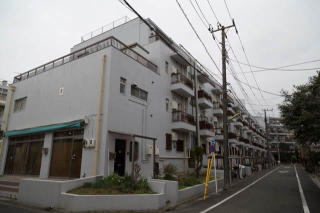 四谷軒第5経堂シティコーポの外観