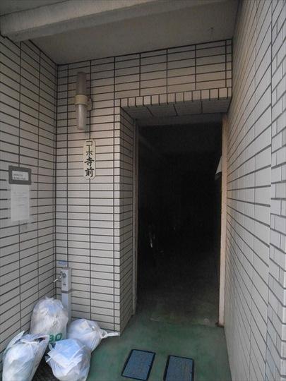 コーポ寺前(中野区)のエントランス